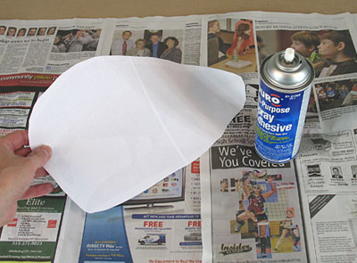 photo - apply glue