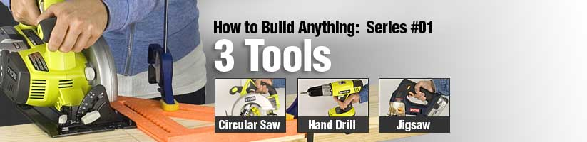 Build with 3 Tools
