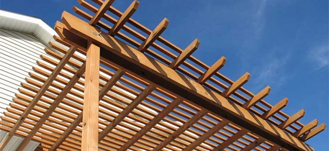 Pergola Designs Attached to House