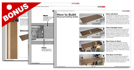 Plywood Cutting Guide Plans