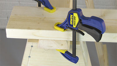 Irwin Quick-Grip Clamps - Easy Woodworking Clamps