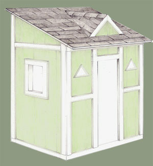 Pdf easy to build playhouse plans diy free plans download for Easy to build playhouse