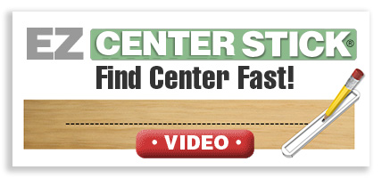 Easy Center Stick Woodworking Tool