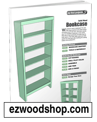 bookcase plans beginners