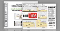 pocket hole screw chart