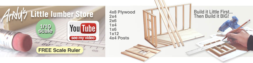 Scale Wood Lumber - Basswood Lumber