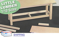 Indoor Kit - Scale Wood Lumber