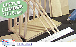 Outdoor Kit - Scale Wood Lumber