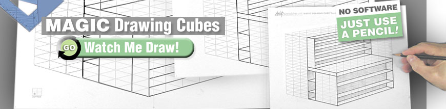 Magic Drawing Cubes