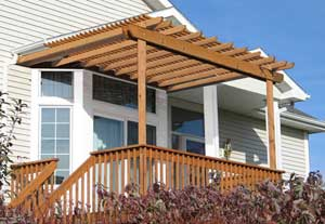 Home Design Plan on Pergola Plans   How To Build A Pergola Attached To House Or Deck