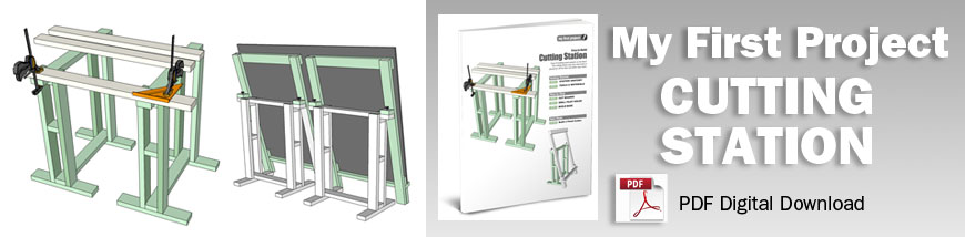 EZ Cutting Station Plans for Wood Projects