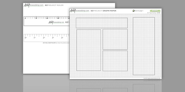 Free Woodworking Guides Templates And Charts Ezwoodshop Com