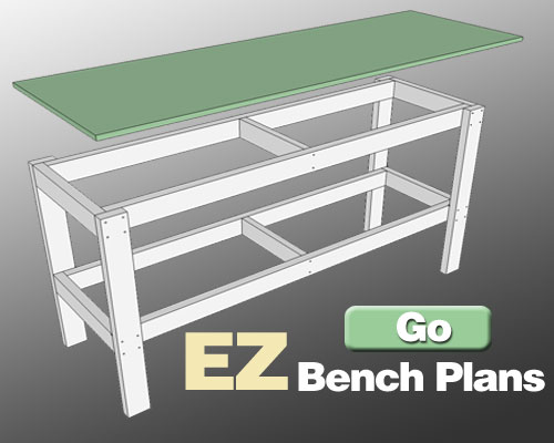plans workbench diy